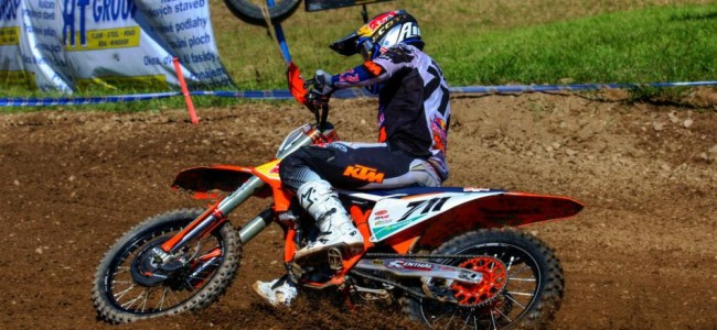 Rene Hofer on the start of his season and leading at Matterley Basin