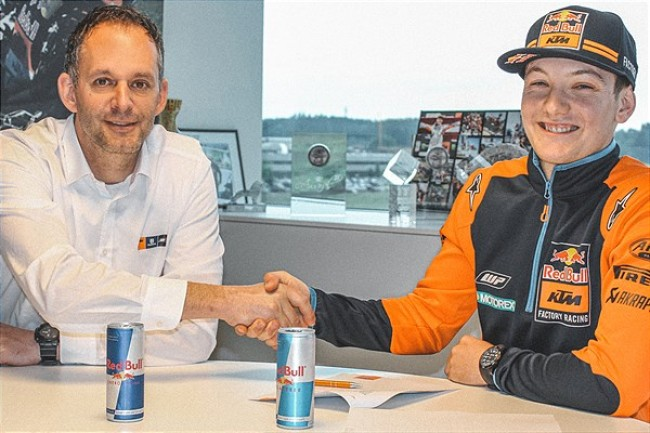 Rene Hofer signs KTM contract extension