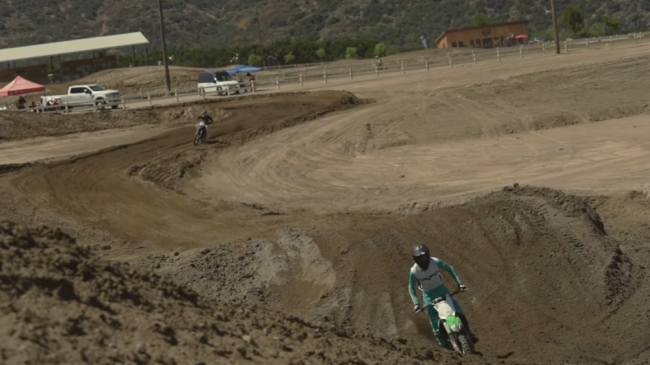 Video: Dylan Walsh riding in California