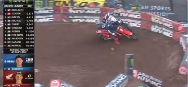 Video: Sexton passes McElrath for a big win – contact