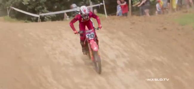 Video: Tim Gajser back racing –  Slovenia