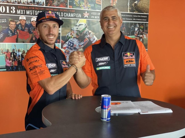 Cairoli stays in MXGP for the 2021 season