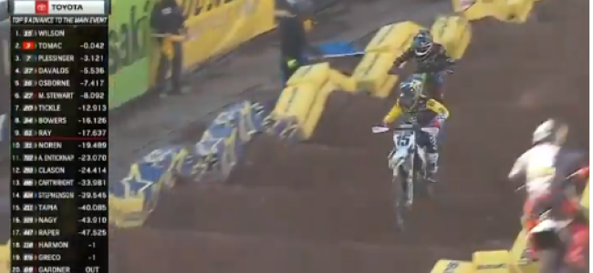Video: Wilson holds off Tomac to win heat at SLC6
