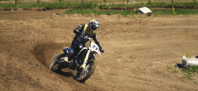 Video: Arminas Jasikonis preparing for MXGP return at his home track