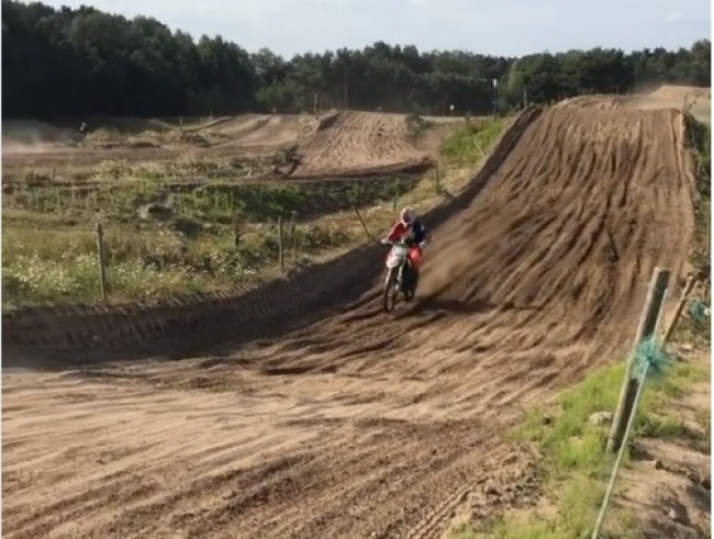 Video: Alberto Forato takes on a rough Lommel