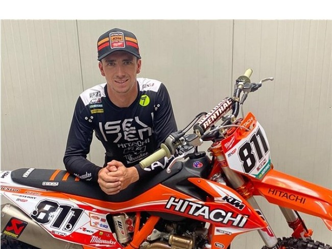 Adam Sterry officially signs with Hitachi KTM fuelled by Milwaukee