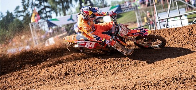 Herlings on fifth, Vialle on his win!