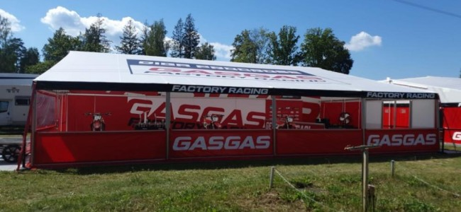 New MX2 GasGas Factory appearance in the GP paddock