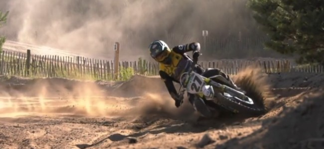 Video: Arminas Jasikonis putting in the laps at Eersel
