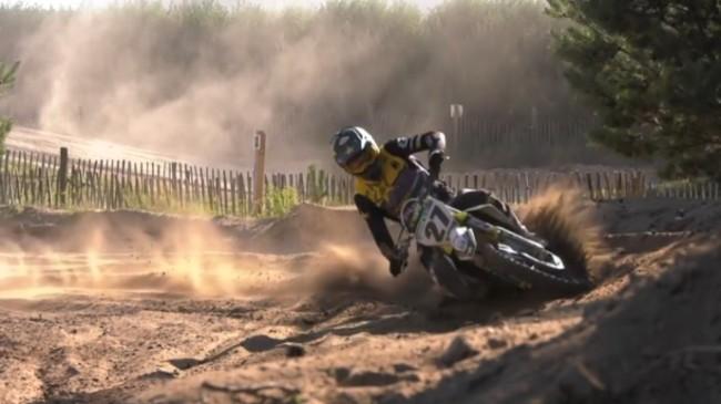 Video: Arminas Jasikonis putting in the laps at Eersel