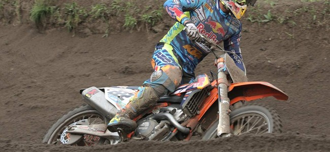 Tony Cairoli switches to the 450 KTM in Spain!