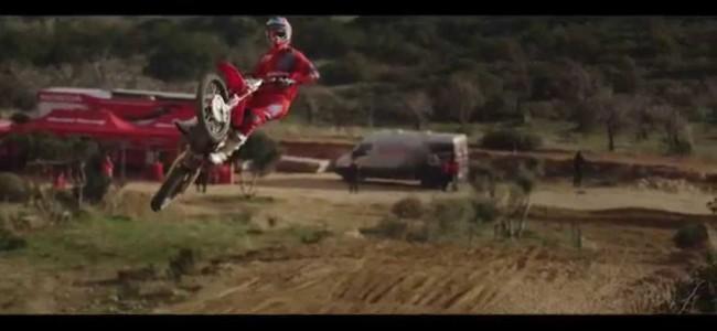 Video: Paulin on HRC Honda