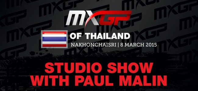 Video: Thailand MXGP studio show