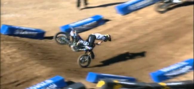 Video: Cooper Webb crash