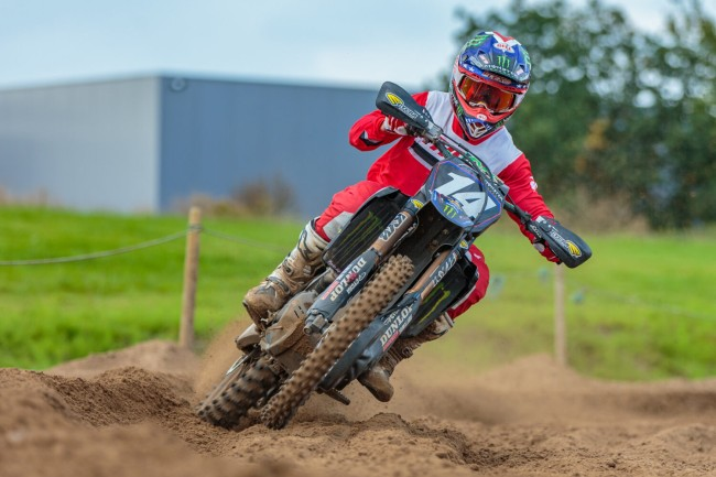 Video: Justin Cooper's first ride at Lommel