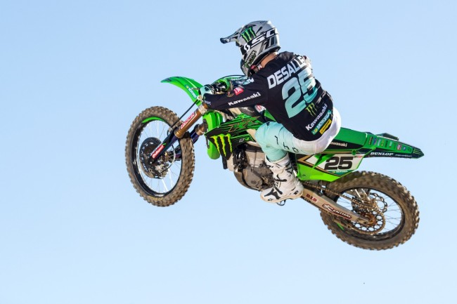 Video: Clement Desalle back on the bike