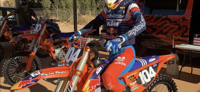 Video: Moreau making supercross progress