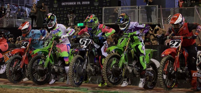 Radio communication in supercross? Divided opinion!