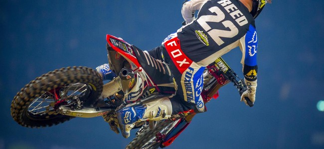 Chad Reed update after his big crash in Paris