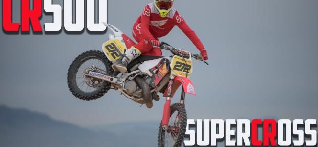 Video: Neville Bradshaw – CR500 does Supercross!