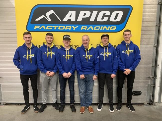 Chambers racing Husqvarna unveil 2020 team