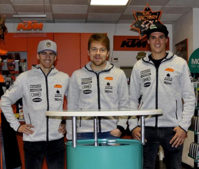 Sarholz KTM sign up Rauchenecker and Sandner