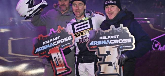 Geoff Walker on Lefrançois Arenacross title