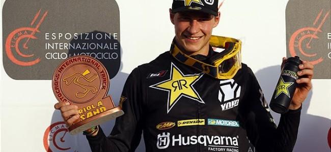 Jonass and Jasikonis on the first International Italian Championship