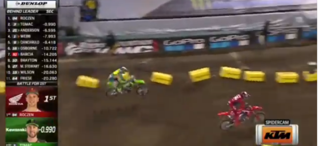 Video: Tomac passing Roczen on his way to A2 victory