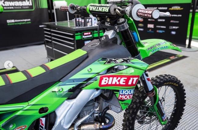 Wilson Todd back on the bike – starts riding DRT Kawasaki