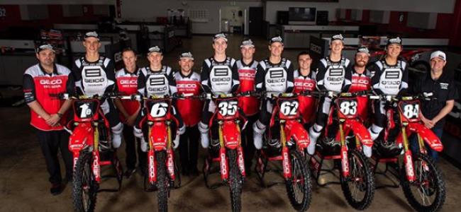 Confirmed: Honda's factory US 250cc team close their doors