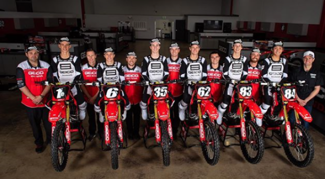 Confirmed: Honda's factory US 250cc team close their doors