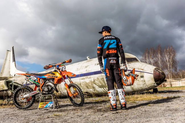 Liam Everts update: Freed from his cast