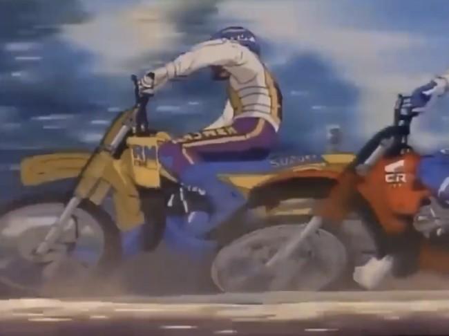 Video: Motocross animation – 1980s!