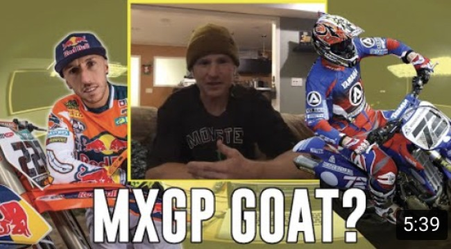 Who is the MXGP GOAT – Everts or Cairoli? Josh Hill has his say!