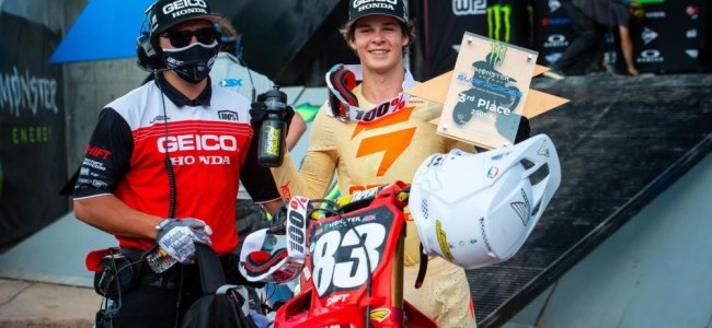 Jett Lawrence on his first Supercross podium and the Forkner situation