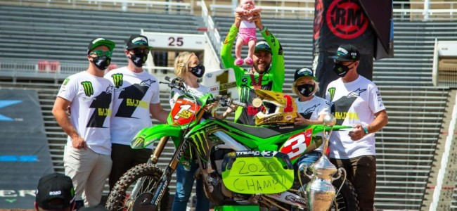 Tomac on clinching his first SX title: A huge relief