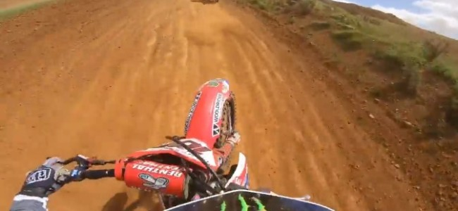 GoPro: Tommy Searle chases Steven Clarke at Wroxton