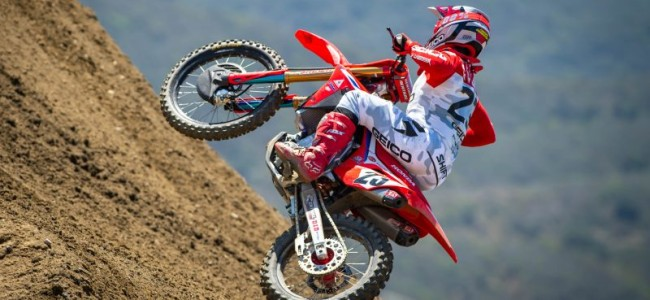 Gallery: Chase Sexton on the 450cc Honda