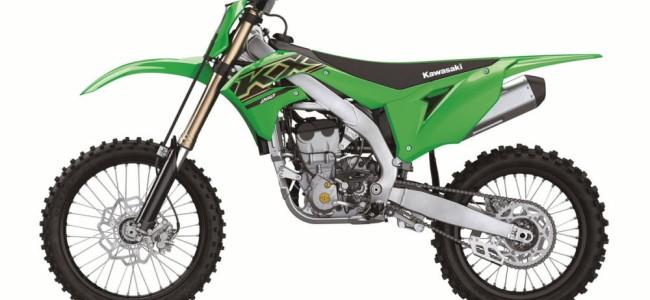 Revealed: The 2021 Kawasaki KX250