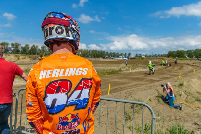Herlings has been dealing with a recent injury