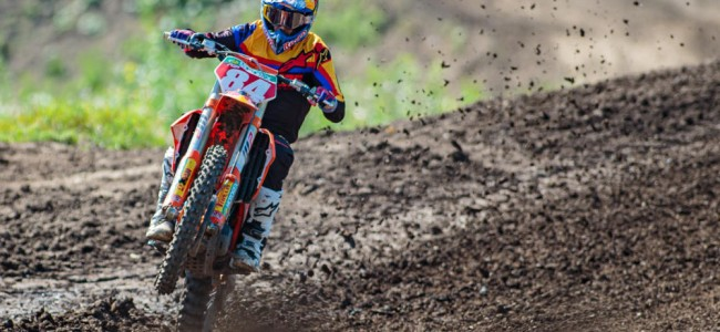 Gallery: MXGP riders – hard pack prep for Faenza