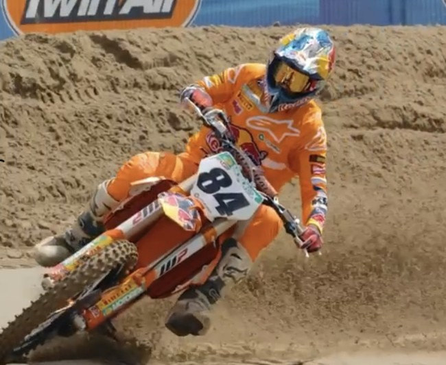 Herlings on his race at Axel