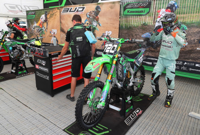 A fifth place moto for Locurcio while Goupillon injured