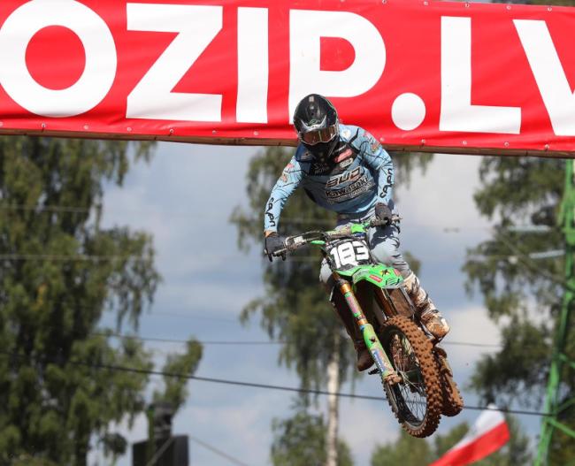 Lorenzo Locurcio on his EMX250 debut