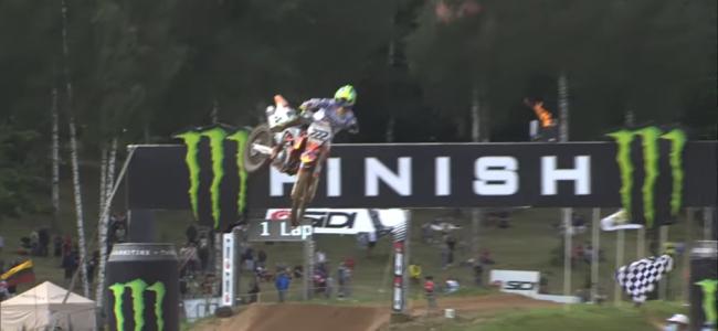 Video: MXGP of Riga Highlights – chaotic GP!