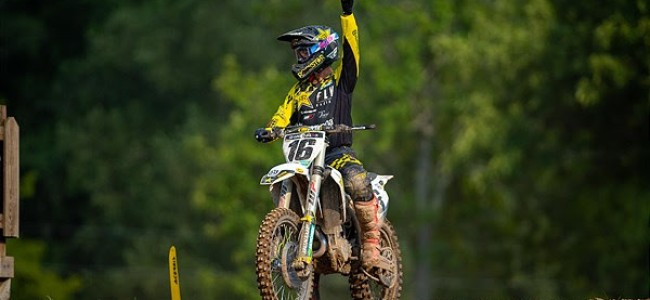 Osborne on his first career 450MX overall