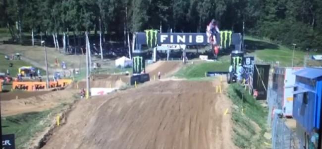 Benoit Paturel injury update and see his huge crash