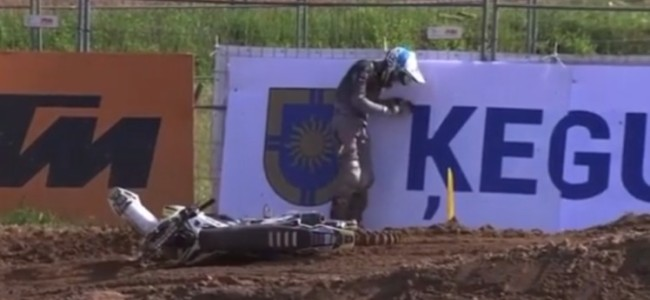 Video: Big crash for Jörgen-Matthias Talviku at Kegums
