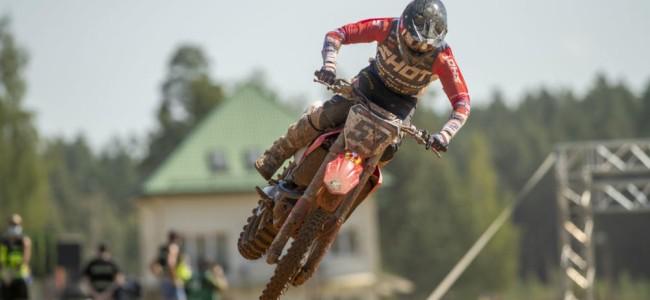 Dylan Walsh on his JM Honda and MXGP debut